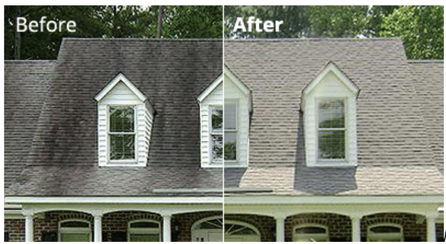 Beautiful ... Your Homeu0027s Exterior, Those Stains Will Be The Main Focal Point Of Your  Homeu0027s Exterior. And, If You Are Hoping To Sell Your House, Roof Cleaning  Is A ...